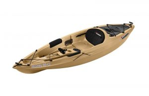 light brown kayak