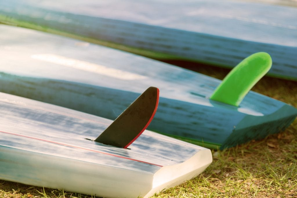 Surfing Paddle Board