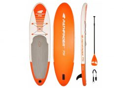 Pathfinder Inflatable SUP Stand-up Paddleboard Bundle Review