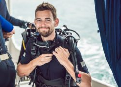 Perfecting Your Back-Roll Scuba Entry
