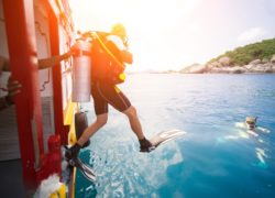 Scuba Diving Entry Methods
